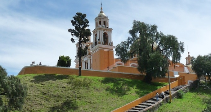 Sanctuario de la Virgen de Los Remedios in Cholula