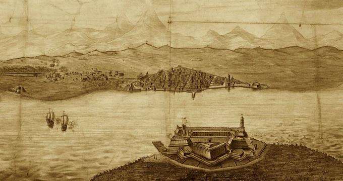 Franz. Lithographie d. 19. Jh.